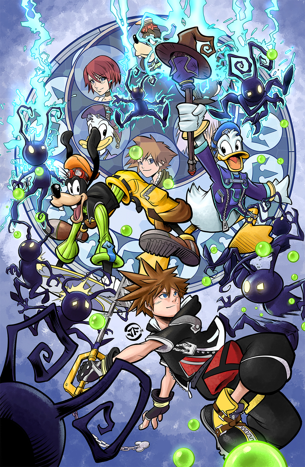 Kingdom Hearts Fan Art