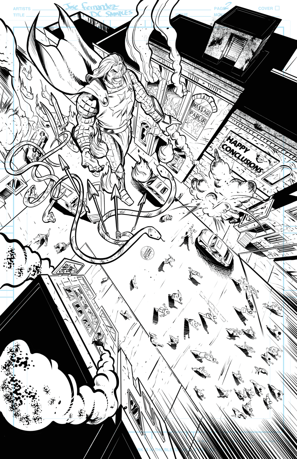 Page 2 Batman Samples
