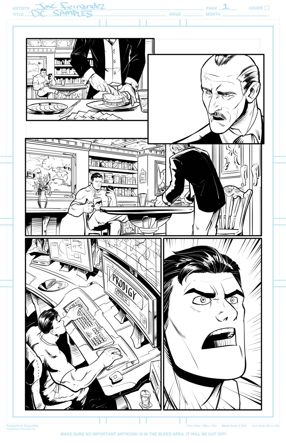 Page 1 Batman Samples