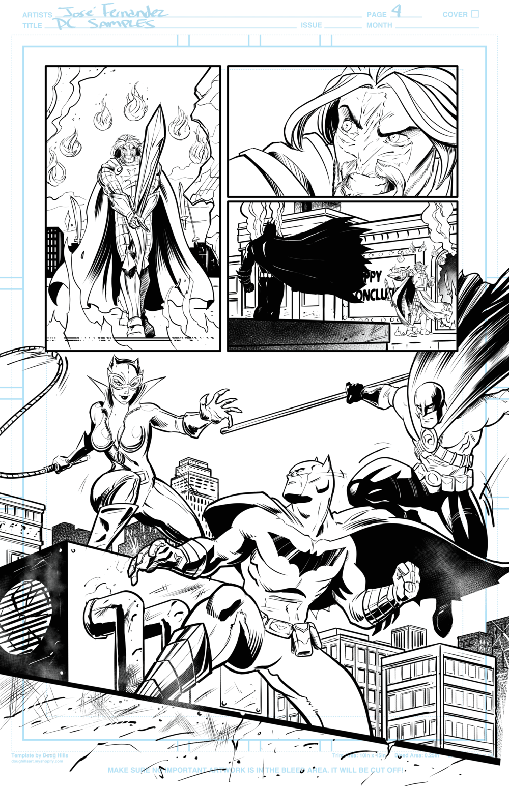 Page 4 Batman Samples