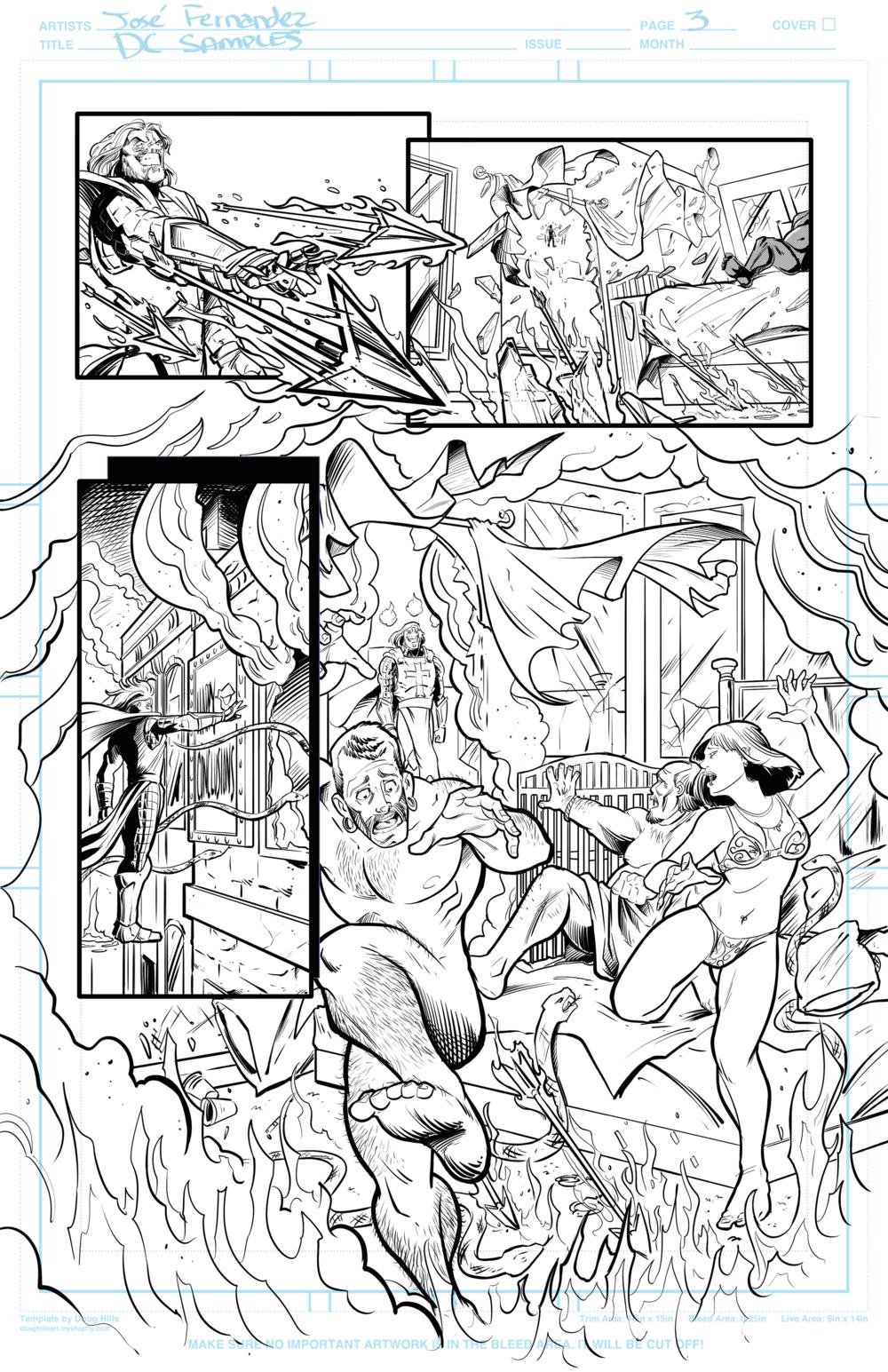 Page 3 Batman Samples