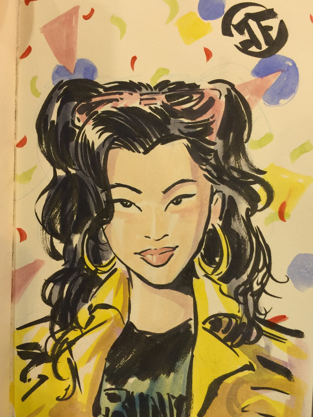 Jubilee Watercolor Commission Sketch