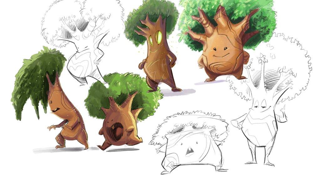 Saplings - Little Lumberjack Project