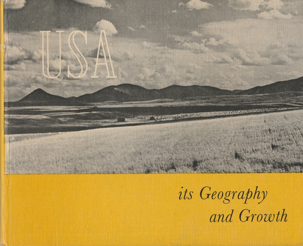 First published in Great Brittan in 1955. This book, of which the text was originally prepared by the United States Information Service, is an attempt to supply a partial picture of the U.S.A in words and photographs, and acquaint the radar with some of the ways in which Americans have made use of their land and recourses.
