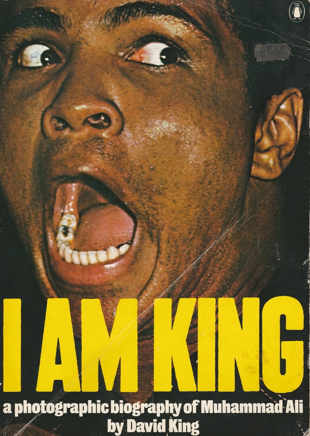 """King was born in 1943, and studied at the London School of Printing and Graphic Arts (now London College of Printing) under Robin Fior, who describes King's approach as 'compare and contrast as a political stance'. As art editor of   The Sunday Times Magazine   from 1965-75, he collaborated with art director Michael Rand to create the new language of the supplement: features sporting dynamic picture cropping and processed graphic effects gave the magazine a cinematic feel. King forged important friendships with other   Sunday Times   contributors. With Francis Wyndham he compiled the first pictorial biography of Leon Trotsky (1972). King began supplying his own pictures to the   Sunday Times  , and an assignment with Muhammad Ali in 1974 resulted in the book   I am King  .""    Christopher Wilson,   First published in    Eye    no. 48 vol. 12, 2003"