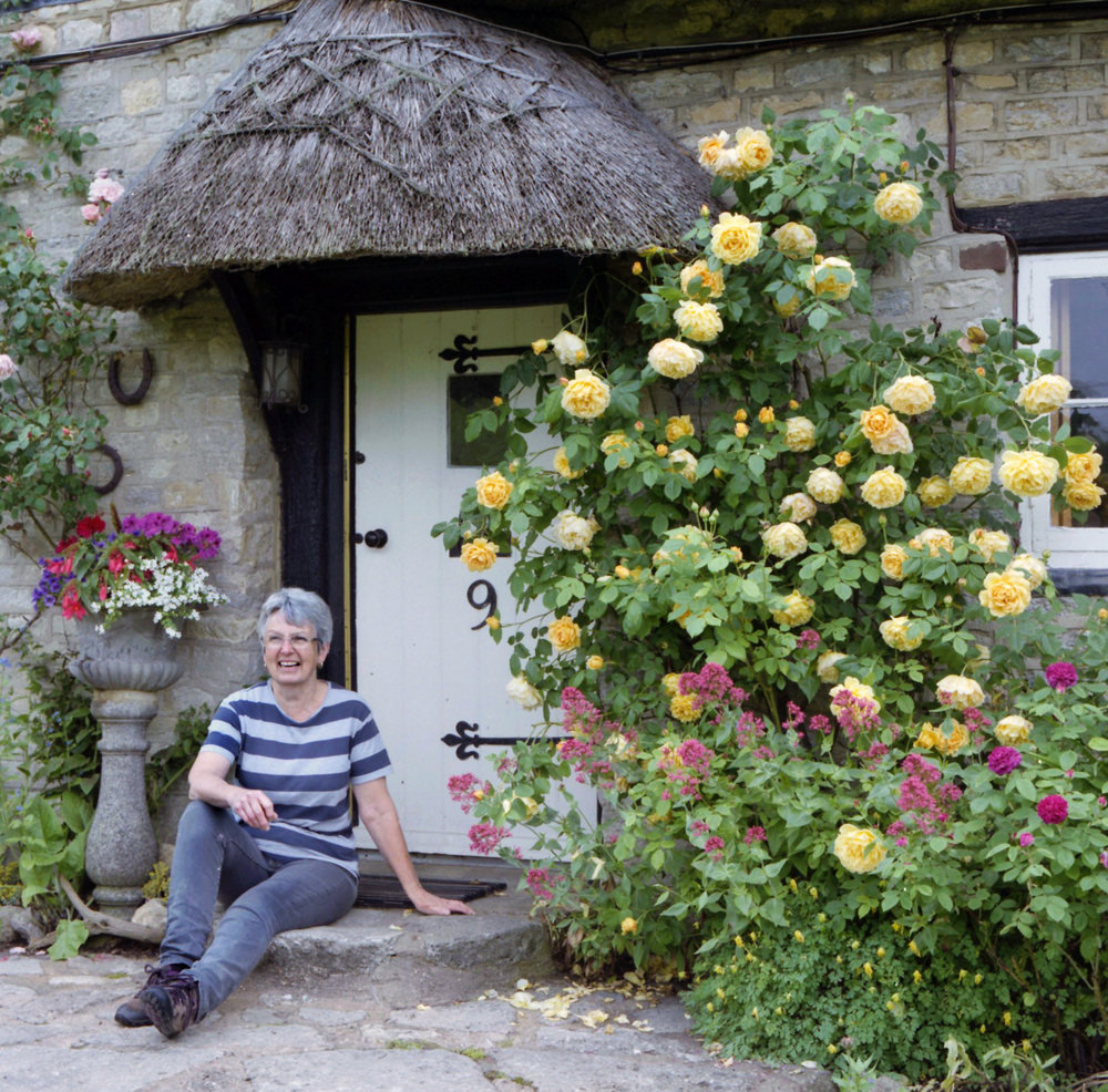 Jane Scott at her home in Buckingham, 2016.