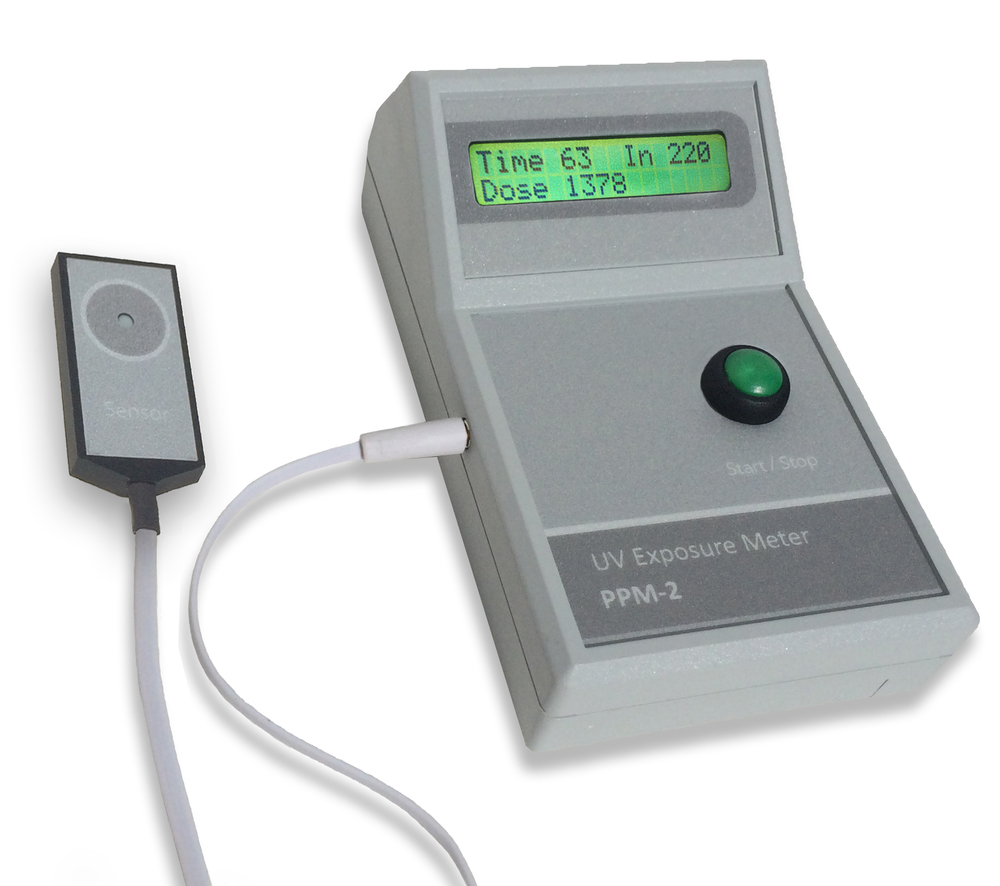 The PPM-2 UV meters with external sensors