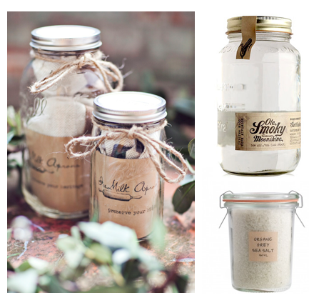 products in jars