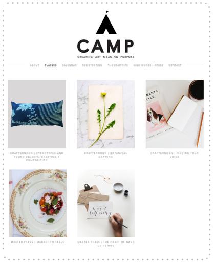 CAMP Workshops