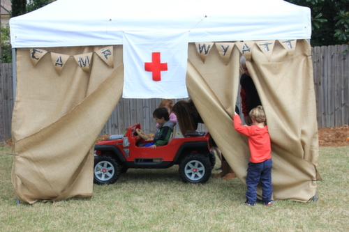 Camp Party Tent