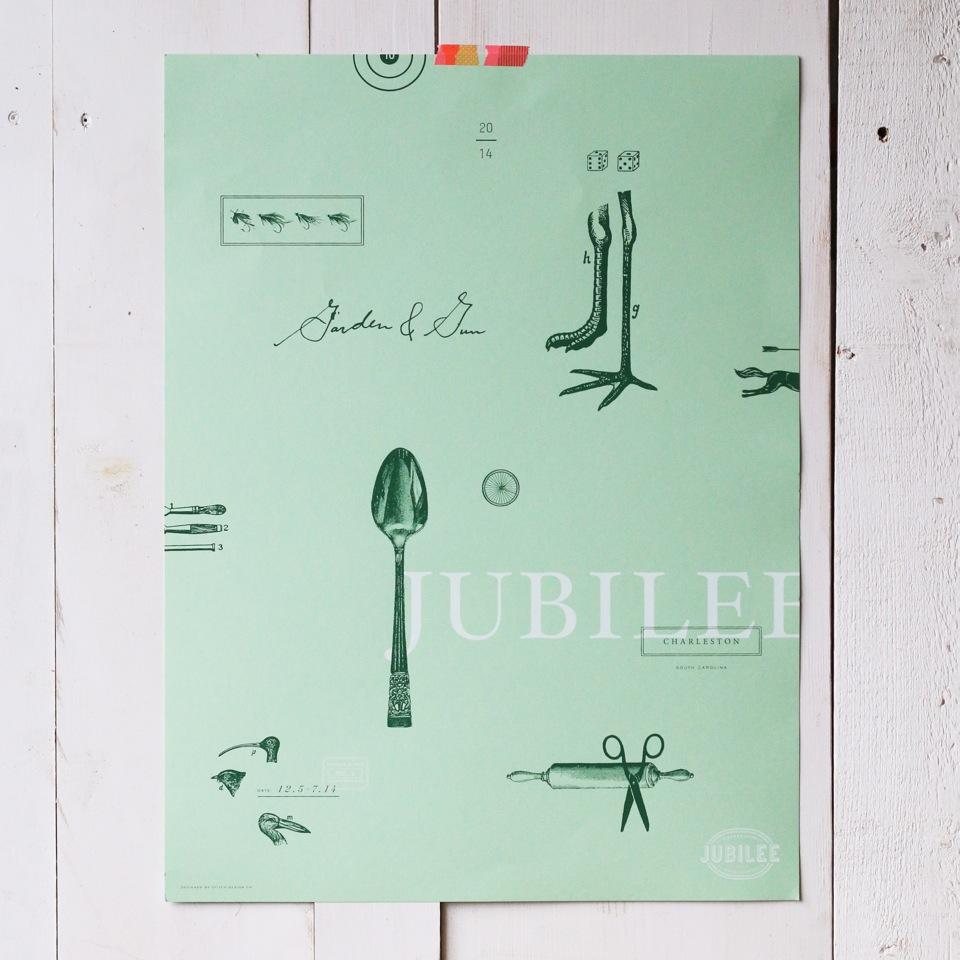 Garden & Gun Jubilee Poster