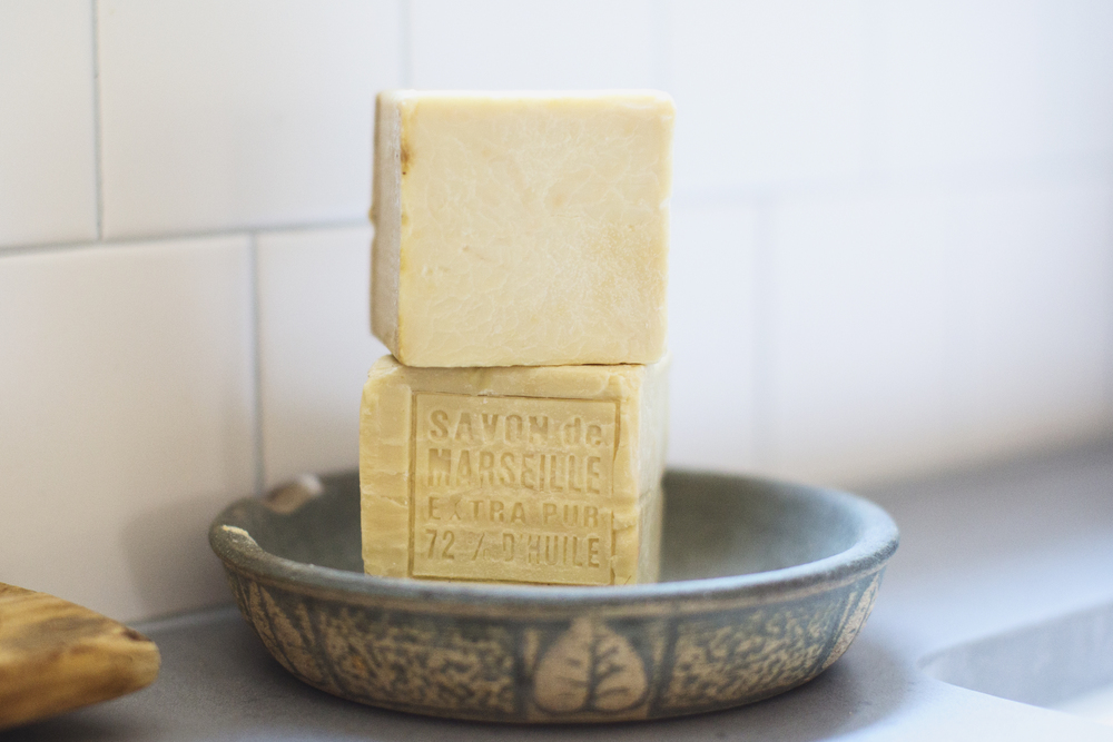 block french soap