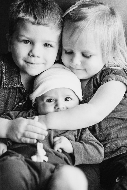 sibling trio
