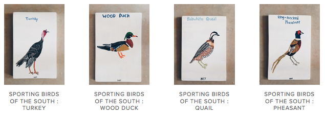 sporting birds of the south art