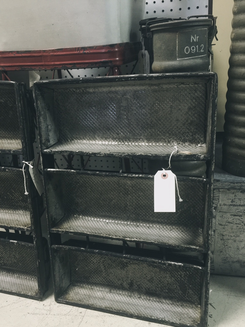 vintage bread loaf pans