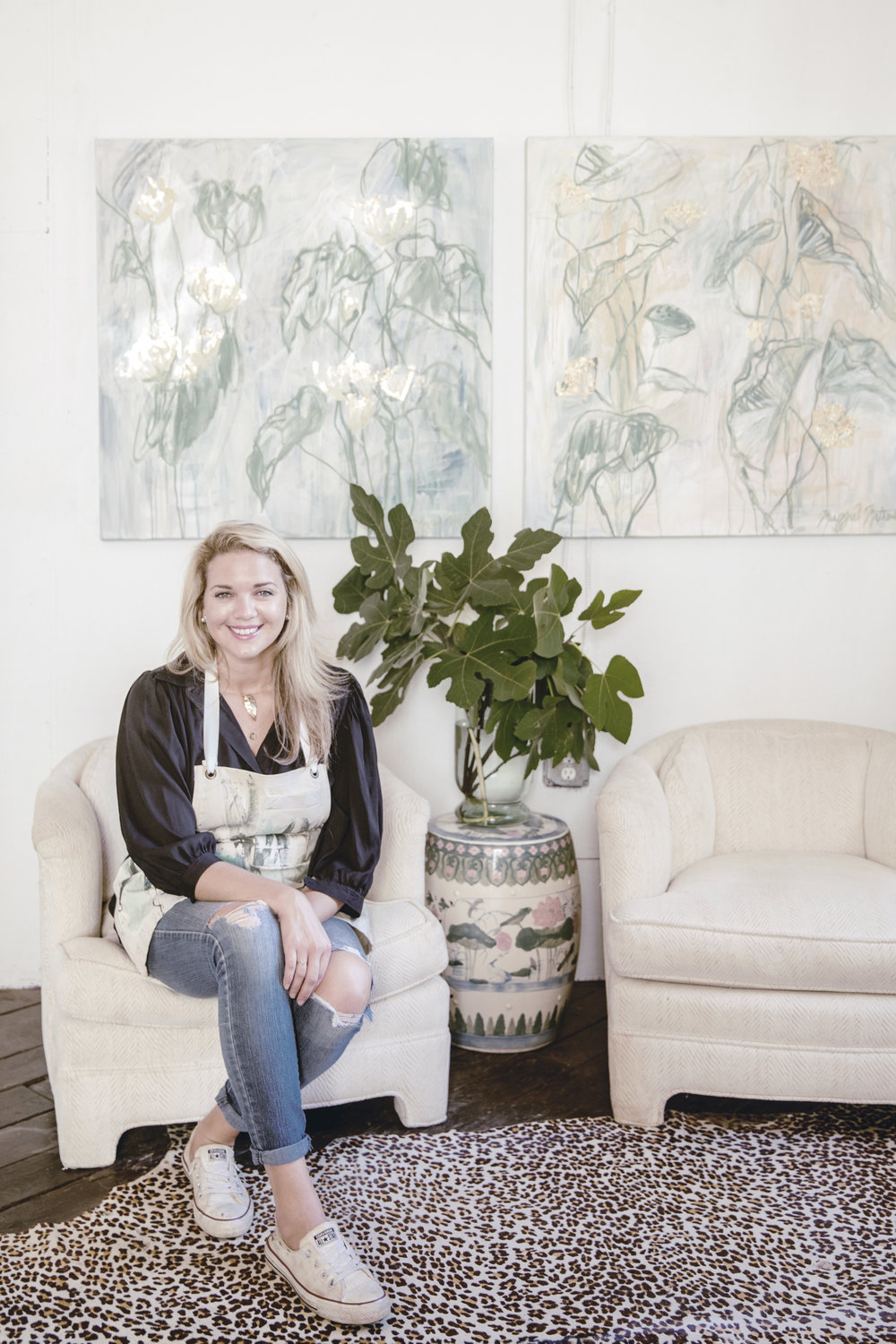 MEET ARTIST MAGGIE MATHEWS