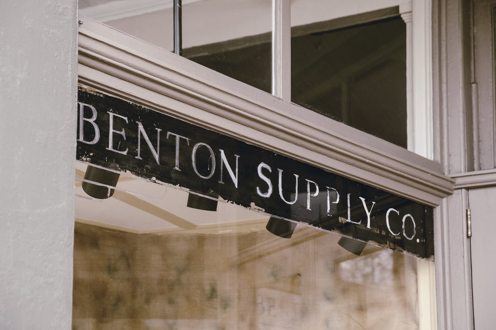 Historic Benton Supply Co building in Monticello GA  / heirloomed