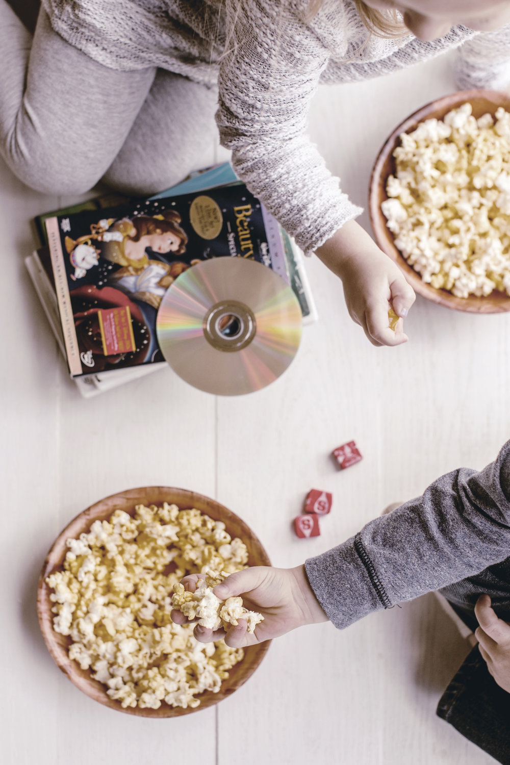 family movie night / childhood traditions / heirloomed