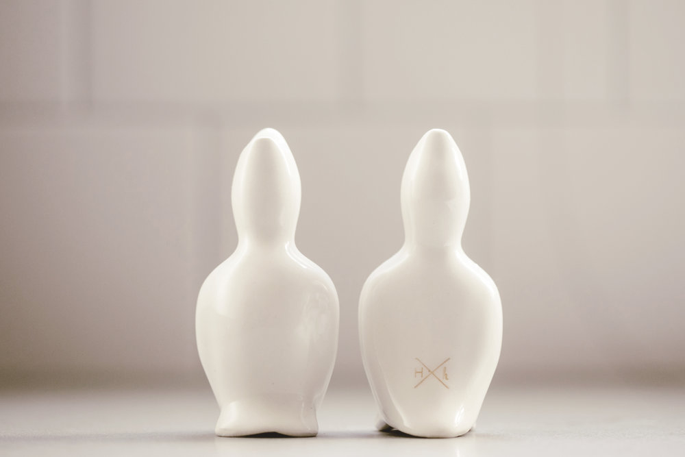 small batch ceramic pie birds / honeycomb studio x heirloomed