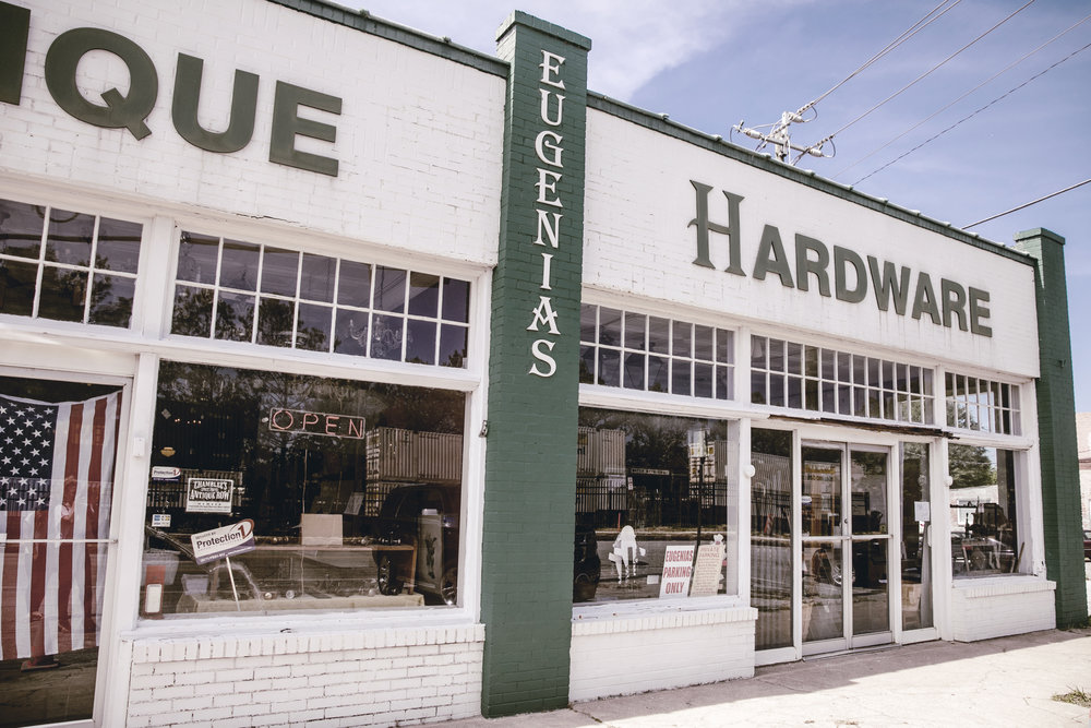 Eugenias Antique Hardware Store in Chamblee GA / heirloomed