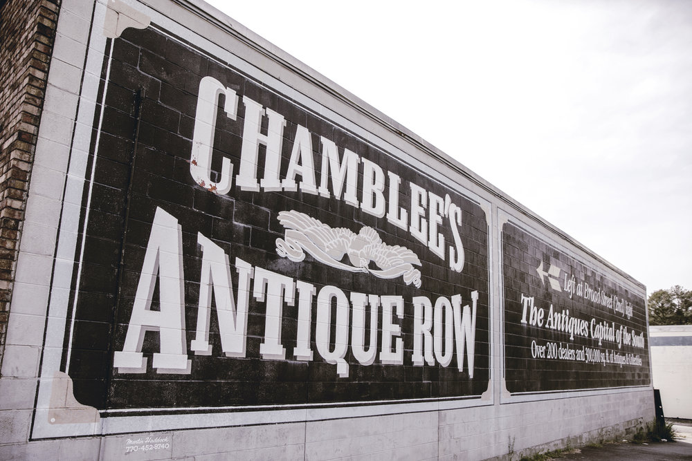 chamblee antiques row / heirloomed