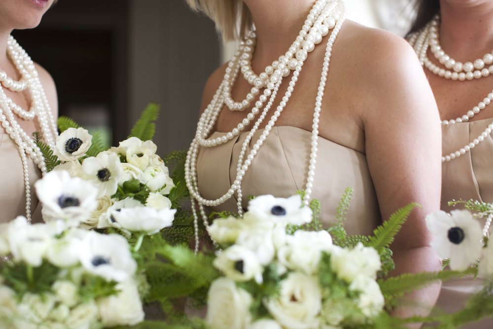 wedding bouquet anemone / heirloomed