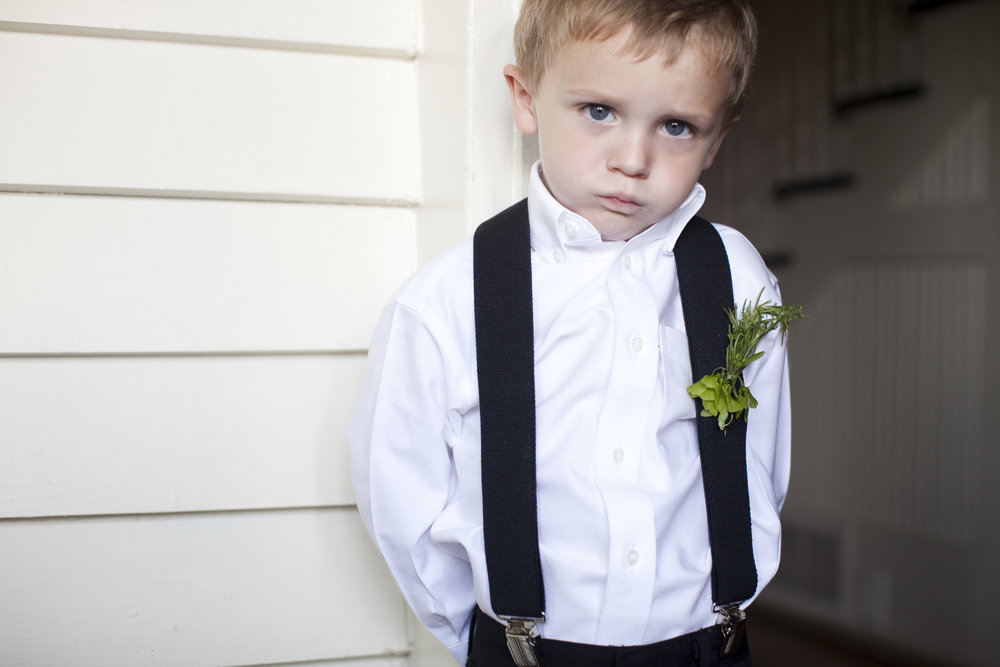 cutest ring bearer / heirloomed
