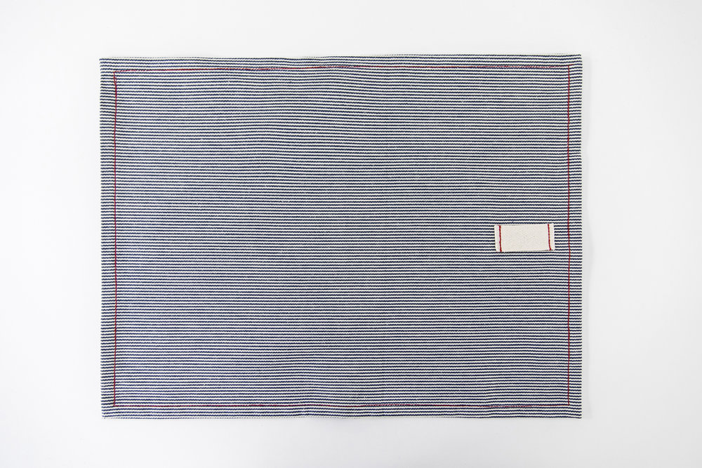 railroad stripe placemat / heirloomed