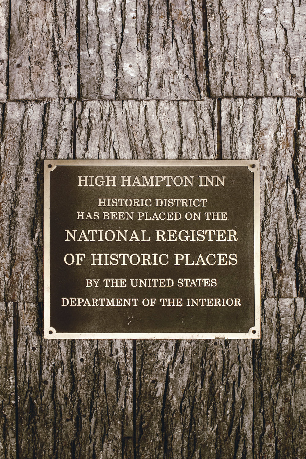 high Hampton inn / national registry of historic places / heirloomed