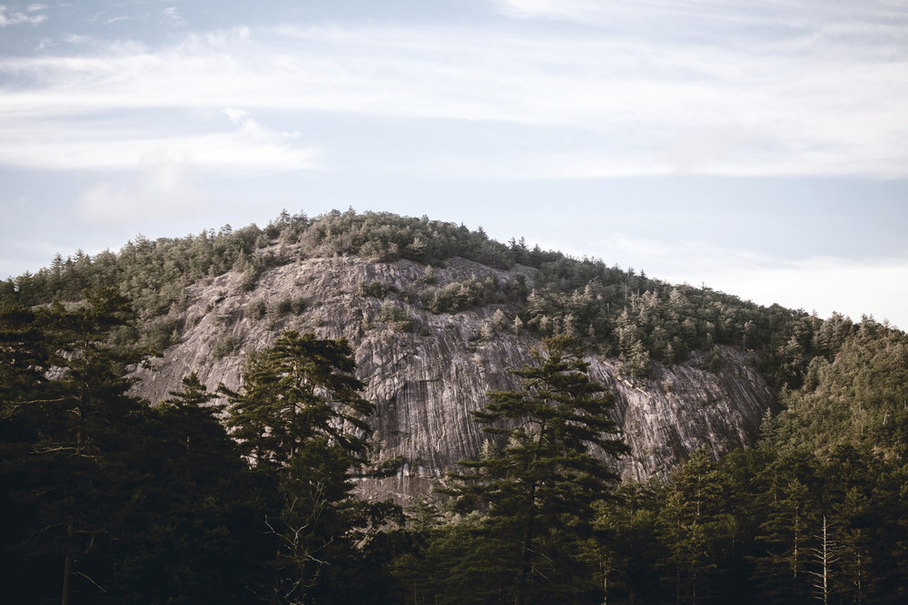 bald mountain in cashiers North Carolina / heirloomed