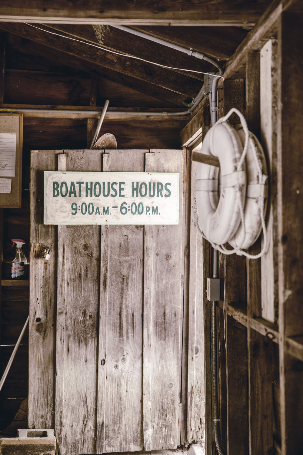 rustic boat house at high Hampton inn / heirloomed