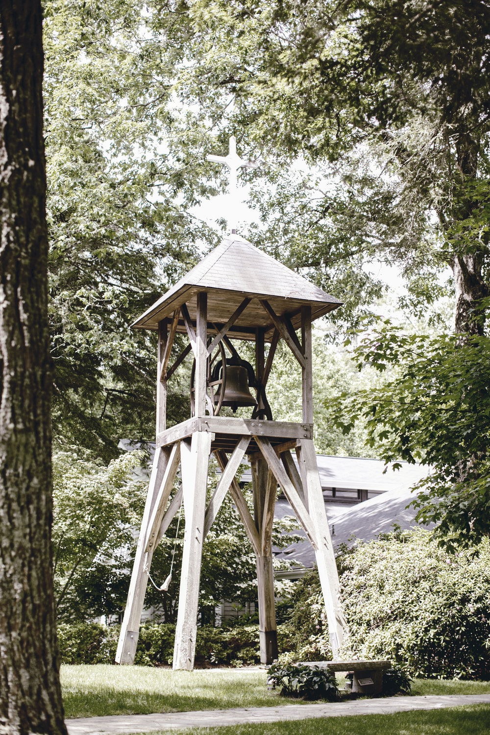 church bell in cashiers NC / heirloomed travel