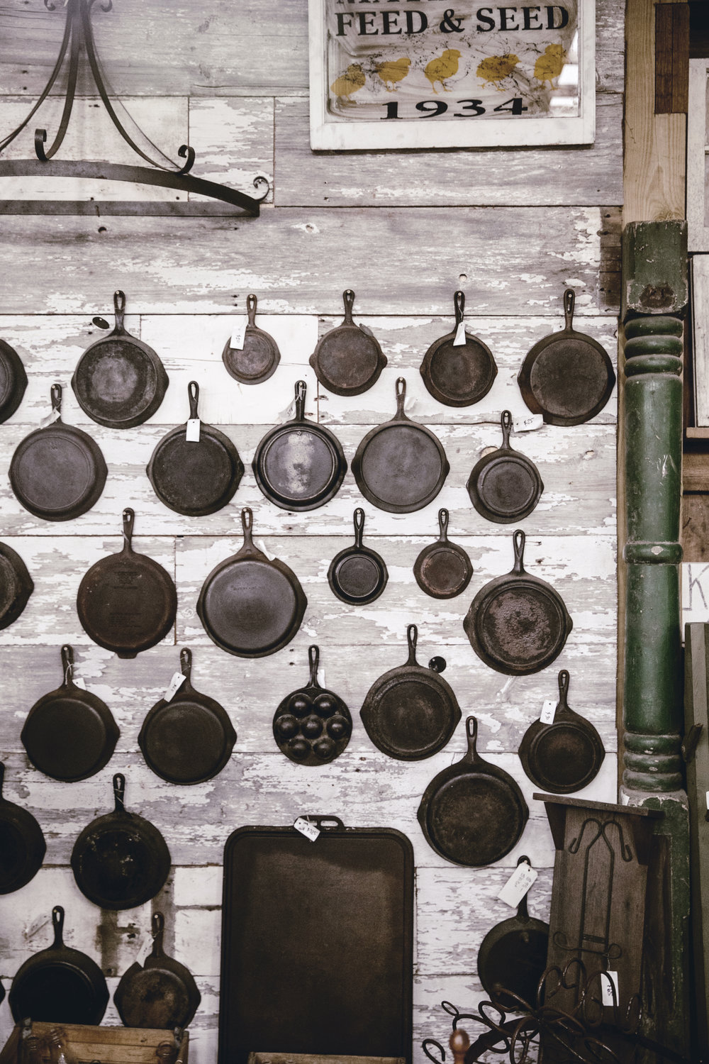 vintage cast iron collection / heirloomed
