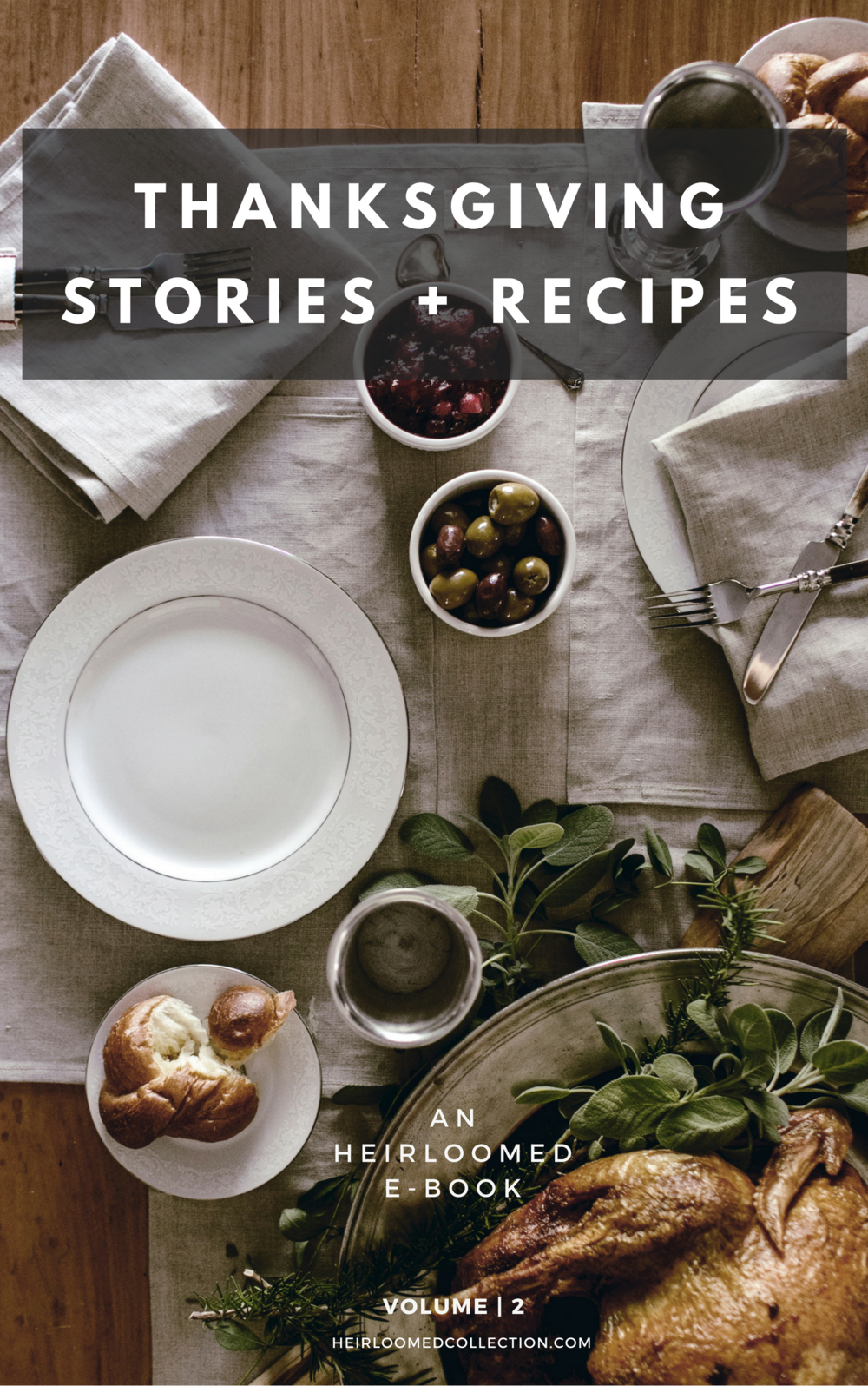 thanksgiving recipes e-book / heirloomed