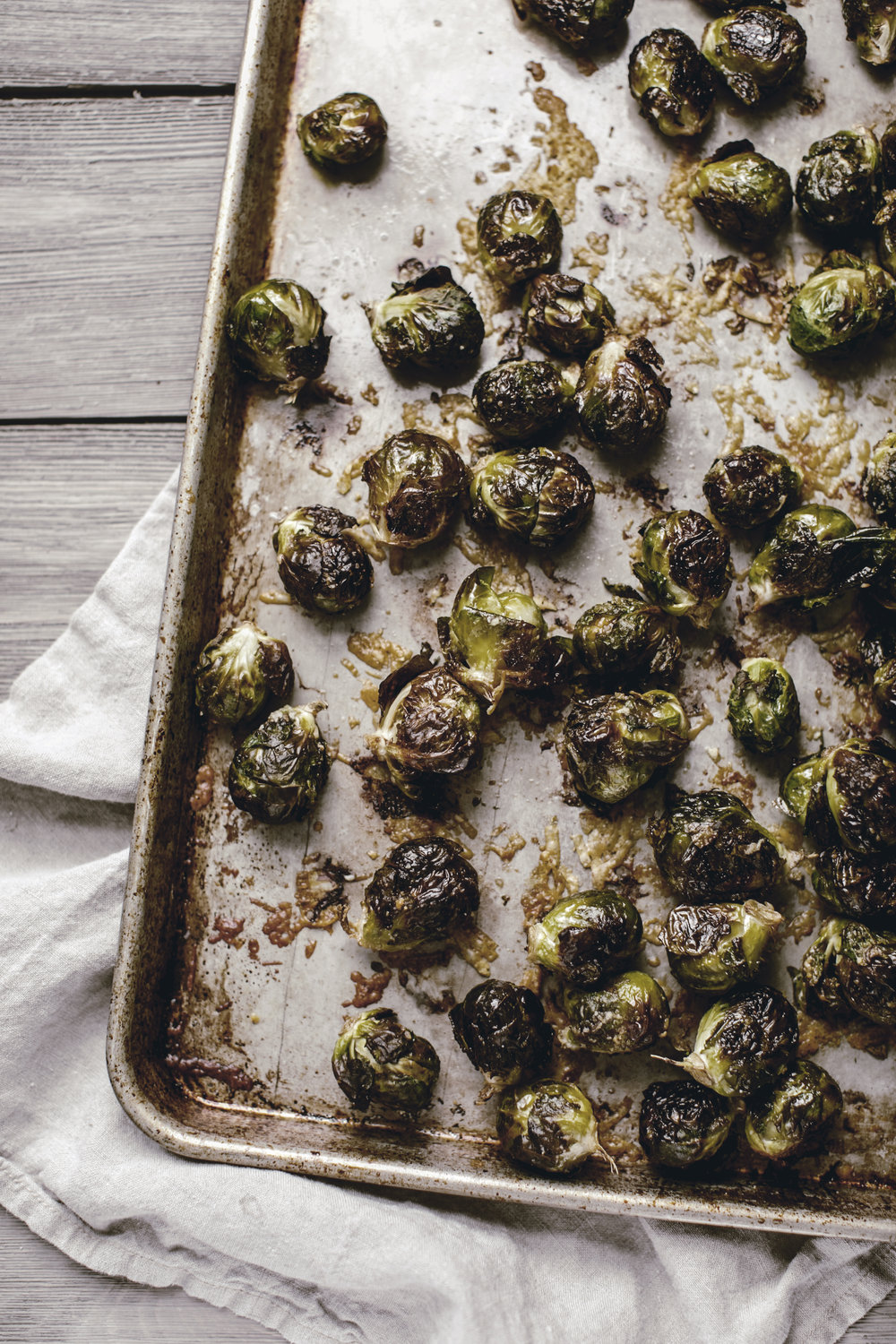roasted brussels sprouts / heirloomed