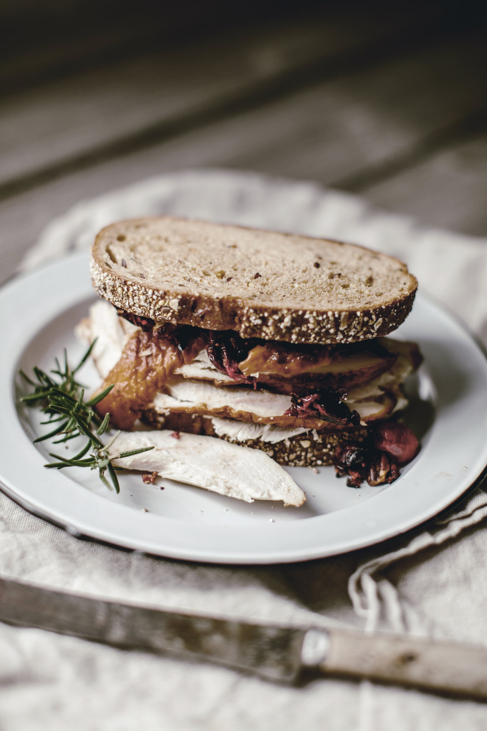 Day after thanksgiving sandwich