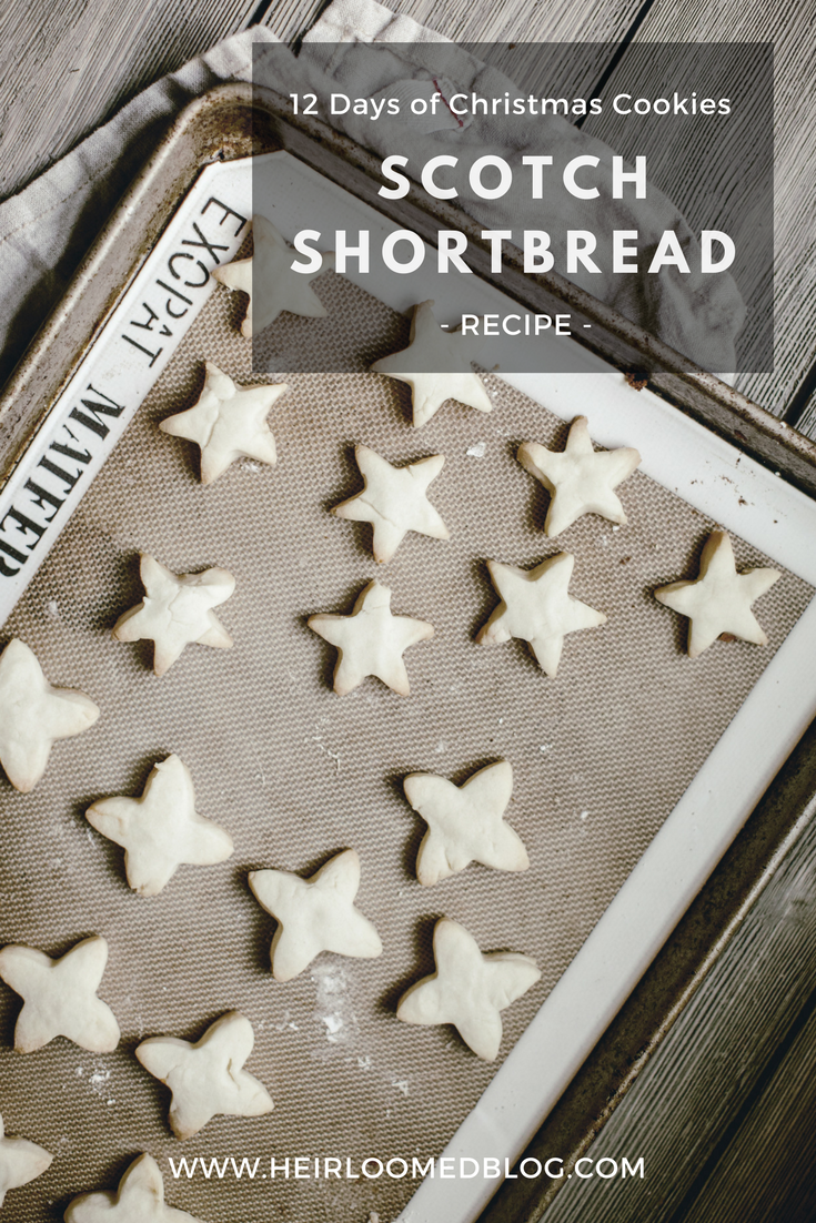 scotch shortbread pinterest / heirloomed
