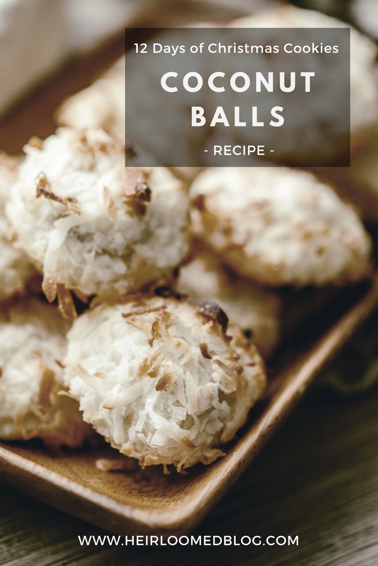 coconut balls pinterest / heirloomed
