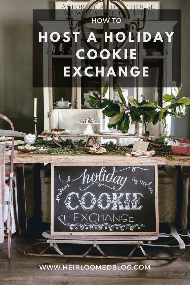 holiday cookie exchange pinterest / heirloomed