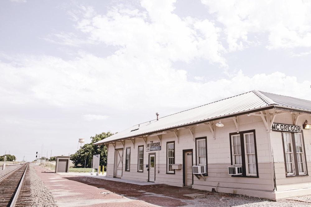 McGregor texas train station / heirloomed travel