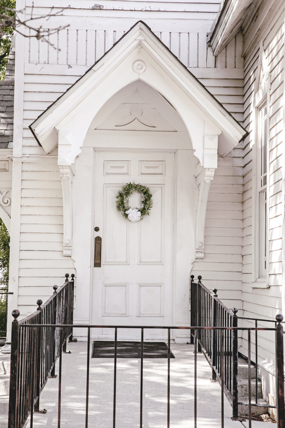 charming rustic white church / Lorena texas / heirloomed travel