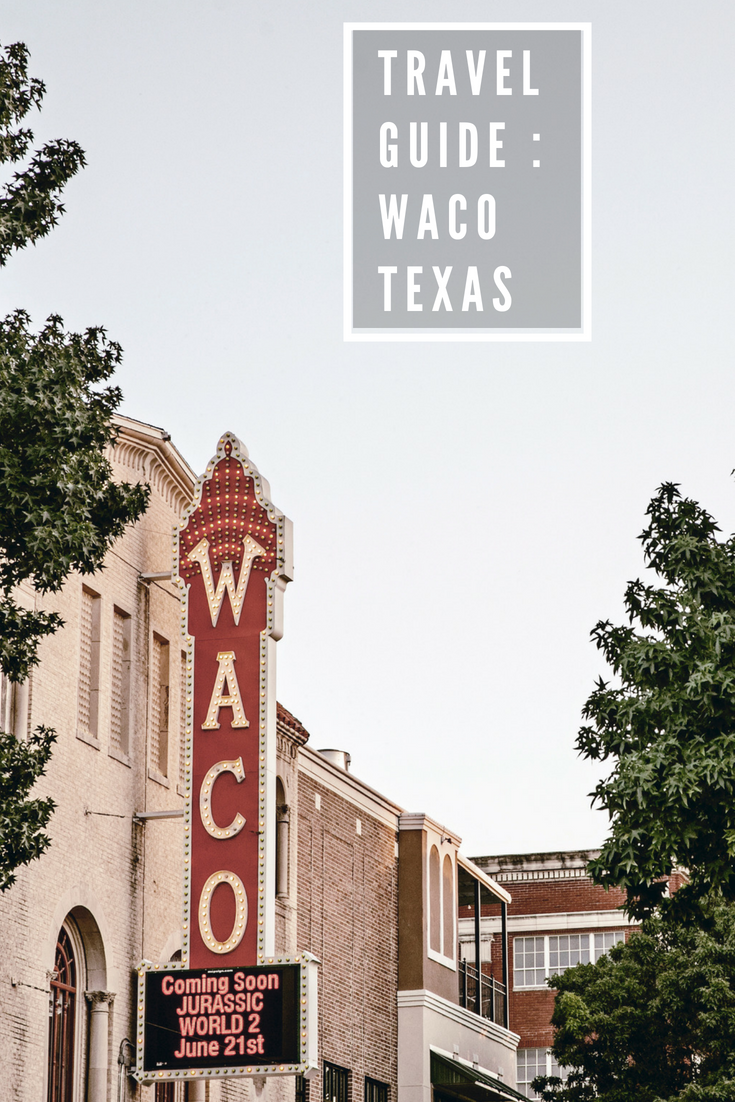 travel guide / Waco Texas / Magnolia / heirloomed
