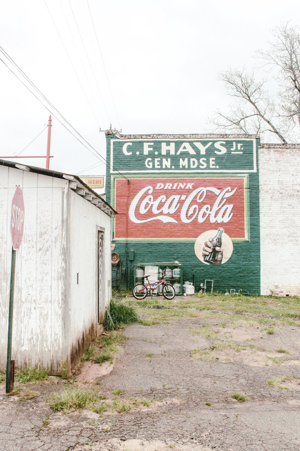Coca-Cola Mural / CF Hays and Sons General Store / heirloomed travel