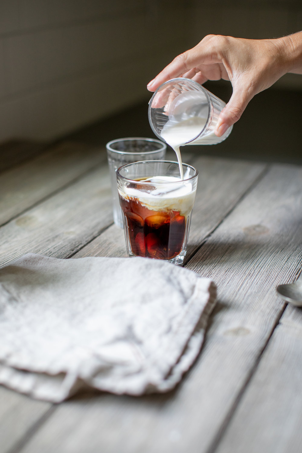 coconut milk cold brew coffee / heirloomed recipe