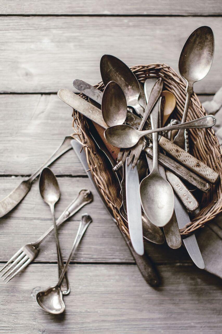 Vintage Silver Spoons