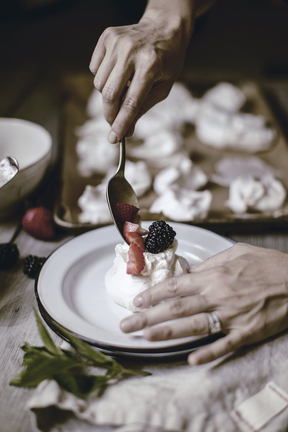 Meringue Recipe / heirloomed