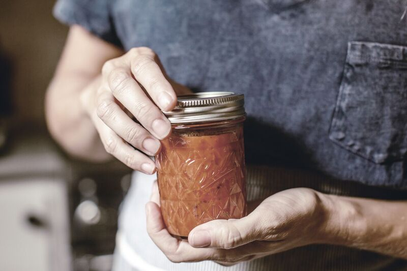 How to preserve tomatoes / heirloomed