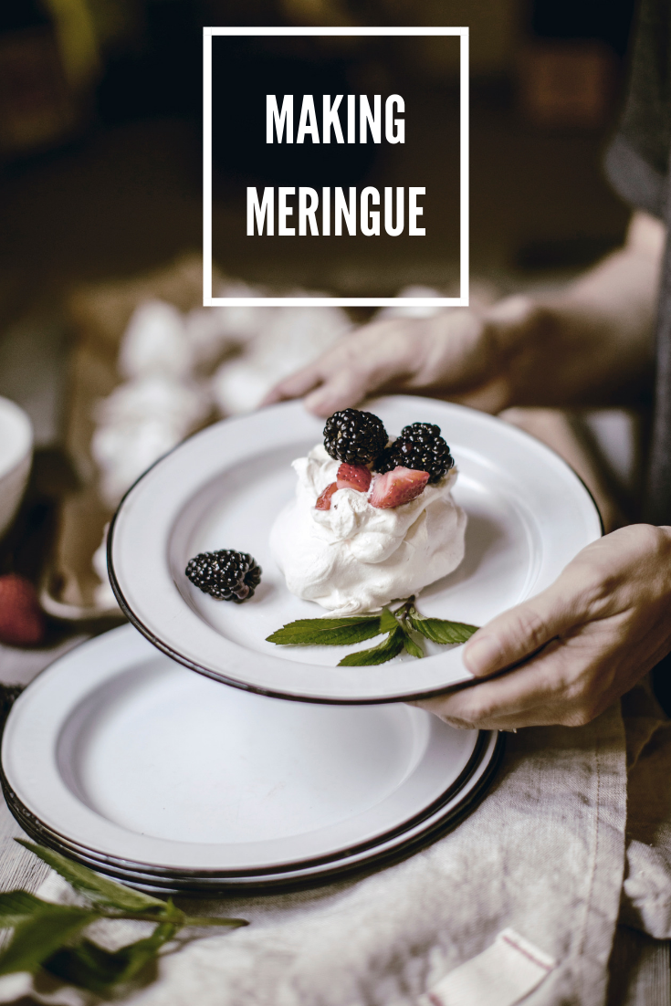 How to make meringue / heirloomed
