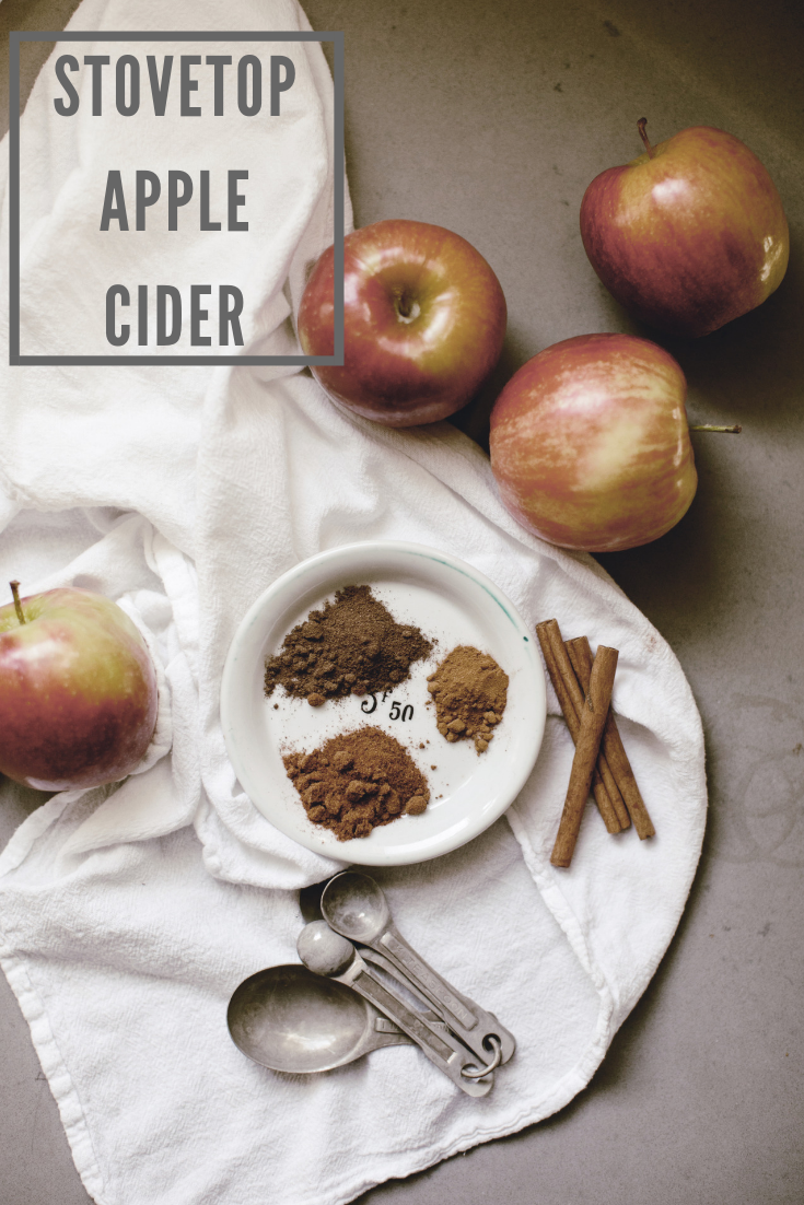 Stovetop Apple Cider / heirloomed