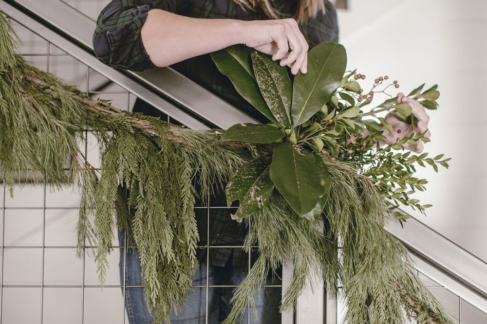 spruce up your garland / heirloomed